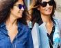 Pomeriggio di shopping per Afef Jnifen e l'amica che non si curano della presenza dei paparazzi