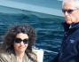 Afef Jnifen con il marito Marco Tronchetti Provera primo maggio a Portofino