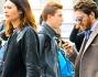 Alessandro Roja e Claudia Ranieri avvistati in Centro a Milano durante l'ora di punto del traffico