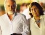 Il patron di Striscia Antonio Ricci si gode le vacanze insieme alla moglie Silvia Arnaud