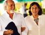 La serata prosegue a spasso per le cittadini al chiaro di luna: Antonio Ricci e Silvia Arnaud