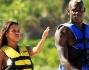 Continua la vacanza a Miami per Mario Balotelli e la fidanzata Fanny Neguesha