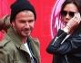 David Beckham e Victoria Beckham con Brooklyn, Romeo e Cruz
