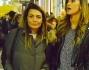 Belen Rodriguez ed Antonia Achille a spasso per il quadrilatero della moda meneghino