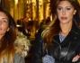 Belen Rodriguez in compagnia dell'assistente Antonia Achille passeggia incurante dei fotografi
