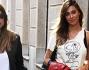 Prosegue la passeggiata seppur disturbata dai paparazzi: Belen Rodriguez e Simona Miele