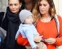 Belen Rodriguez dopo aver pranzato da Petit Bistrot: eccola con Antonia Achille e la mamma Veronica