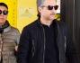 Beppe Fiorello esce dal Policlinico Gemelli dopo aver fatto visita al fratello Rosario