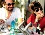 Bianca Guaccero e Dario Acocella a pranzo fuori insieme alla famiglia si godono il tiepido sole