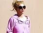 E' ben lontano il look sexy e provocante da palcoscenico per Britney Spears che per tutti i giorni preferisce la tuta