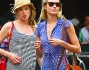 Doutzen Kroes e Candice Swanepoel avvistate nel West Village a New York
