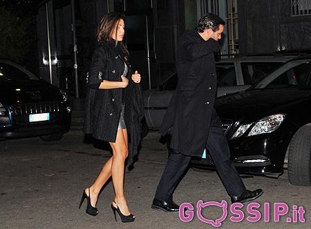 Cecilia Capriotti Mondanissima A Milano Con Gianluca