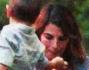 Edelfa Chiara Masciotta con il piccolo Andrea e l'ex compagno Roberto Cenci