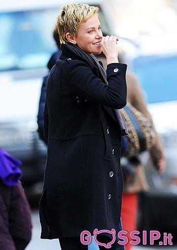 Charlize Theron :capello corto