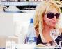 Anche a pranzo per Antonella Clerici ed Eddy Martens di sorrisi neanche l'ombra...