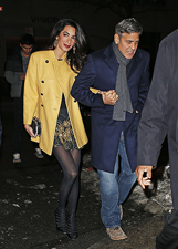 Amal Alamuddin e George Clooney insieme a New York: le foto