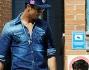 Cristiano Ronaldo nella capitale spagnola all'uscita dalla scuola del figlio Cristiano Junior
