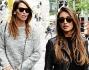 Cristina Buccino e Debora Salvalaggio fanno shopping a Milano