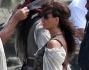Penelope Cruz incinta sul set del nuovo episodio de \'I pirati dei caraibi\'