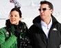 Daniel Ducruet e Kelly Marie Carla Lancien  si divertono sulla neve di Montecampione (BS)