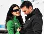 Daniel Ducruet e Kelly Marie Carla Lancien a Montecampione (BS)tra tenerezze e giochi