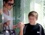 Victoria Beckham e il figlio Brooklyn Beckham