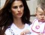 Dayane Mello con la figlia Sofia a Milano
