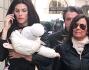 Dayane Mello passeggia con la piccola Sofia a Milano: le foto