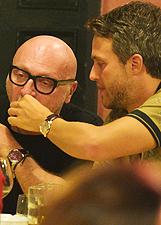 Domenico Dolce con un amico 'speciale' a Potofino: le foto