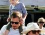 Drew Barrymore e Will Kopelman con la figlia Olive