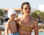 Edelfa Chiara Masciotta con il figlio Andrea di 2 anni