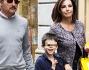 Emanuela Folliero felice in famiglia: eccola con Andrea e Giuseppe Oriccio