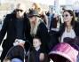 Emma Bunton con il marito Jade, i figli ed il resto della famiglia in vacanza a Parigi