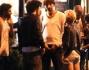 Fuori dal fastfood altri amici raggiungo la coppia nascente, tra cui l'attore Matteo Branciamore, noto per il ruolo di Marco ne 'I Cesaroni'