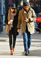 Emma Stone e Andrew Garfield sfidano il freddo a New York: le foto