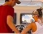 Anna Kurnikova ed Enrique Iglesias avvistati a Miami sul loro yacht