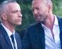 Tra gli ospiti anche Biagio Antonacci: eccolo con lo sposo Eros Ramazzotti