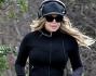 Fergie sulle colline di Hollywood in tenuta sportiva per riprendere la sua forma fisica perfetta