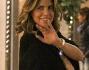 Sorridente e serena nonostante le dichiarazione del suo ex Mimran: Claudia Galanti