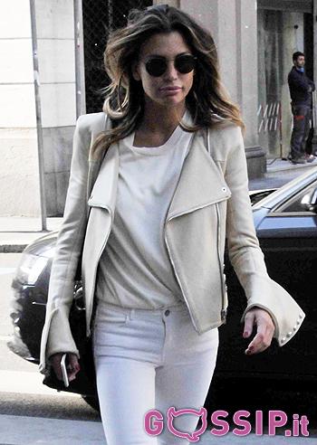 Shopping meneghino per Claudia Galanti