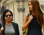 Giulia Arena e Patrizia Mirigliani insieme dopo il concorso di Bellezza per definire il lavoro da farsi