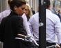 Giulia Michelini fotografata durante un pomeriggio di shopping nel quadrilatero della moda