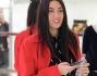 Giulia Valentina shopping da Louis Vuitton a Milano
