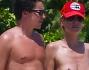 Heidi Klum in gran forma in topless: eccola con Vito Schnabel