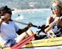 Vito Schnabel e Heidi Klum a Saint Tropez