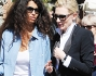 Afef Jnifen in compagnia dell'attrice hollywoodiana Cate Blanchett