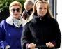 Michelle Hunziker incinta a Milano con Sole e Ineke: foto