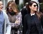 Ilaria D'Amico a Milano, shopping e pranzo in compagnia: foto