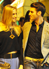 Irene Cioni e Federico tra baci e coccole a Milano: foto