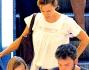 Ben Affleck e Jennifer Garner avvistati insieme con i figli ad Atlanta